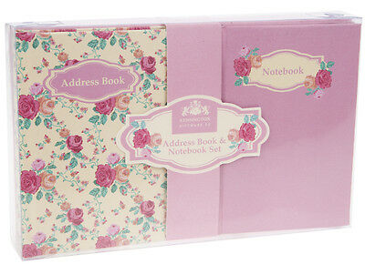 Address Book & Notebook Gift Set - Kensington - Mothers Day - NEW