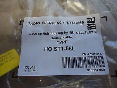 Radio Frequency Systems  HOIST1-58L - LACE-UP HOISTING GRIP FOR 5/8 CELLFLEX