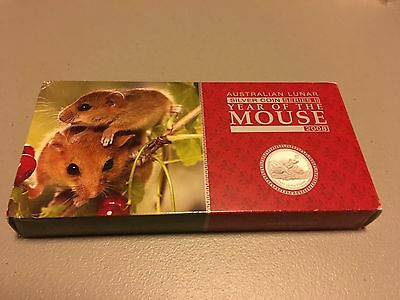 3 Coin Lunar Proof Set - 2008 Mouse (Series II)