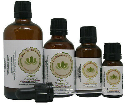 Oregano Oil - Min 80% Carvacrol Certified Organic * 10ml / 30ml / 50ml / 100ml *