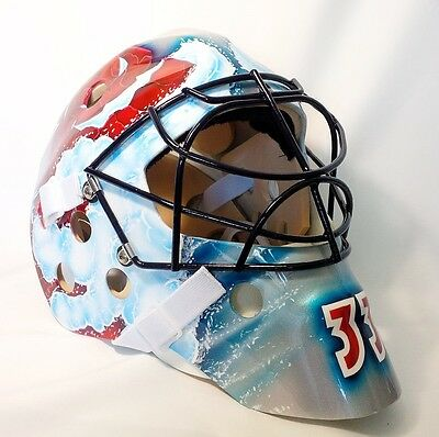 Patrick Roy Avalanche Goalie Mask Hockey Helmet Nhl Replica Full Size Adult