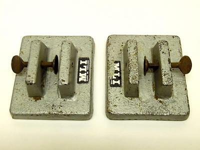 Pair of MLI Protective Screen Channel Clamp Bases