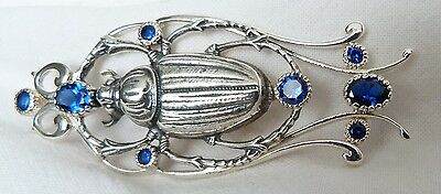 Scarab Egyptian pendant  silver 925  Egypt Pharao's symbol for resurrection