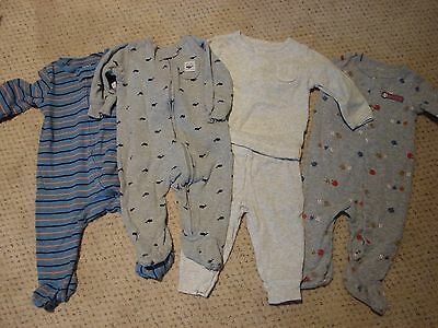 Lot of 4 Baby Boys Outfits Size 6 months