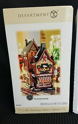 """Dept 56 CHRISTMAS IN THE CITY """" CANDY COUNTER """" LIMITED EDITION OF 8,000 BNIB"""