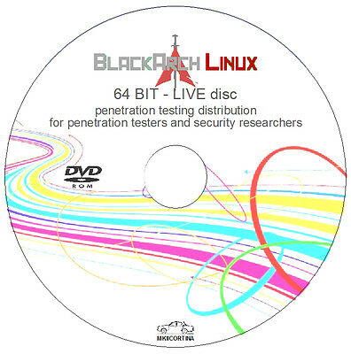 Black Arch Linux - 64 bit Live Disc - Penetration Testing Distribution