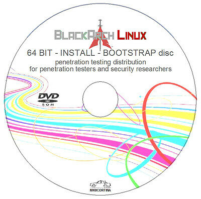 Black Arch Linux 64 bit INSTALL/BOOTSTRAP DVD - Penetration/Testing/Distribution