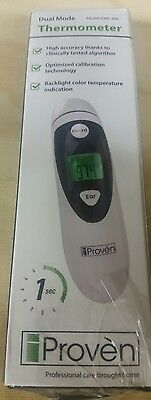 iProven DMT-489 FDA Approved Professional Medical Forehead & Ear Thermometer