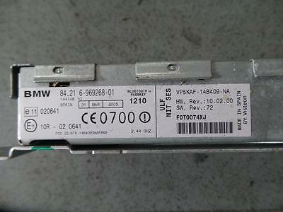 Bmw X5 Radio/cd/dvd/sat/tv Bluetooth Module (Ulf), P/n 84106969268, E53, 11/00-1