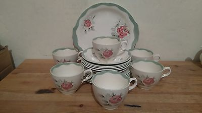 19 Piece Tea Set by Royal Staffordshire China designed by Clarice Cliff - 1930s