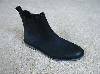 Andrew Marc Genuine Leather Black Boots Shoes, Men's Size 10