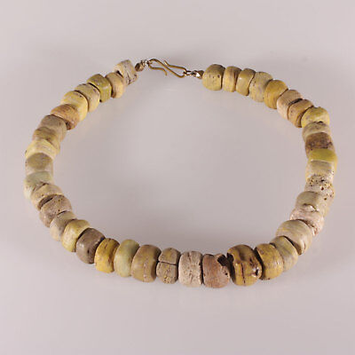 8138 Necklace ancient Hebron ( 1820-1900 ) Glass trade beads