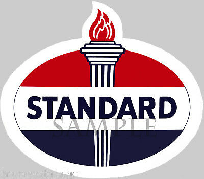 2 Inch Standard Oil Decal Sticker