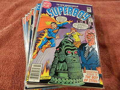 1980-84 DC Comics The New Adventures Of SUPERBOY #2-53  - Awesome 22 Comic Lot