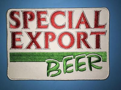 Pabst Heileman's Special Export Beer Large Employee Jacket Patch Crest Rare