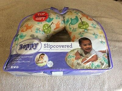 Boppy Slipcovered Feeding And Infant Support Pillow