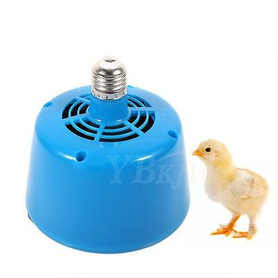 220V Blue Poultry Heat Lamp Bulb Warming Light For Brooder Piglets Chicken Pet