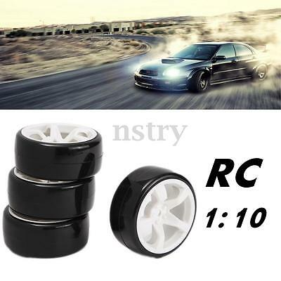 4Pcs RC 1:10 On-Road Car Drift Wheels Tyres For Traxxas HSP Tamiya HPI Kyosho AU