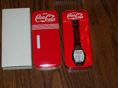 Coca Cola Coke collectable wrist watch with tin from 2009/10.