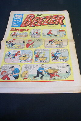 The BEEZER Paper comic  No 1024. 30th August 1975