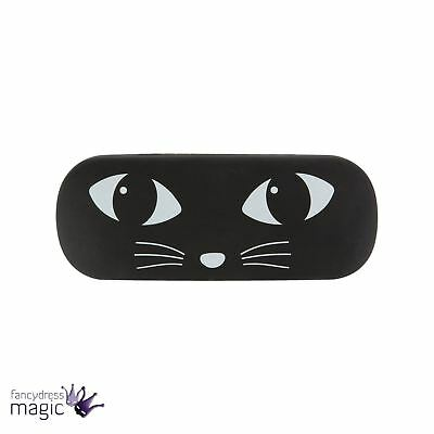 Sass & Belle Black Cat Hard Glasses Sunglasses Spectacles Specs Holder Case Gift