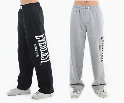Everlast Mens Fleece Track Pants Trousers Gym Sport Casual Tracksuit Size S-XXL
