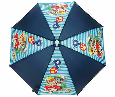Nickelodeon Paw Patrol Good Pups Umbrella Kids Boys Brolly Blue