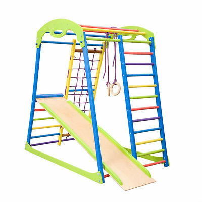 Wall bars, Children home gym, Gymnastic climbing, Baby, Toys, Playground, Sport,