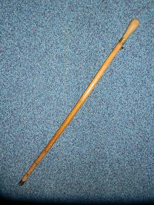 Vintage Colliery Miners Deputy/manager Walking Cane Stick S.wales.