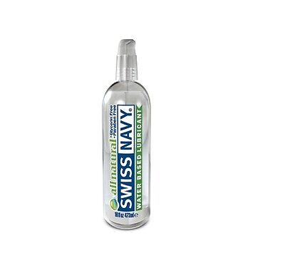 Lubrificante a base d'acqua - Swiss Navy All Natural Waterbased Lube Гель смазка