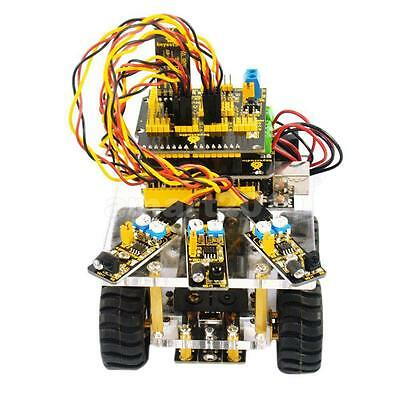 4WD Bluetooth Smart Robot Car Chassis Kit for Arduino