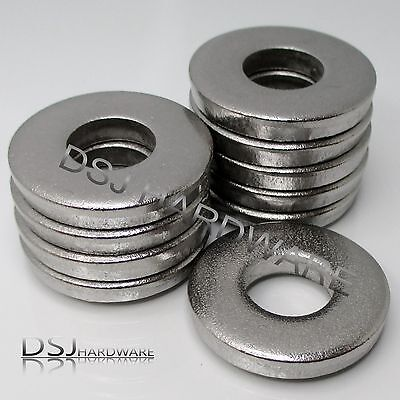 A2 Stainless Steel Extra Thick / Heavy Washers - M5 M6 M8 M10 M12