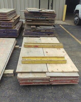 """BBO 5/8"""" 4'x8' 7 Layer Structural 1 plywood - Concrete formwork (Per Sheet)"""