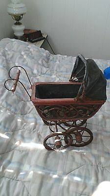 Vintage Baby Doll Buggy Stroller Carriage