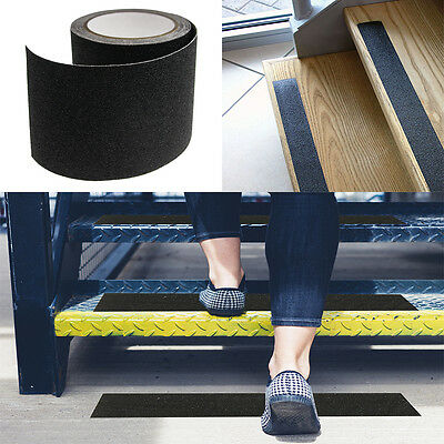 "4""x12' Roll Non-Slip Outdoor Grip Tape Safety Grit Tread For Skateboards Scooter"