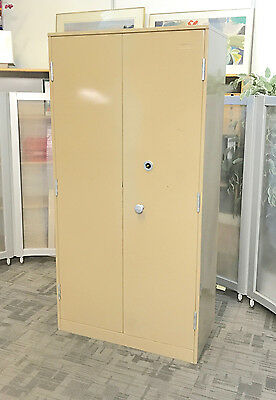 Large Double Door Pawn Brokers Security Cabinets [Chubb Mersey Keyed Lock] Safe