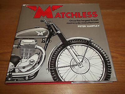 Book. Matchless. Once the Largest British Motorcycle Manufacturer. Peter Hartley