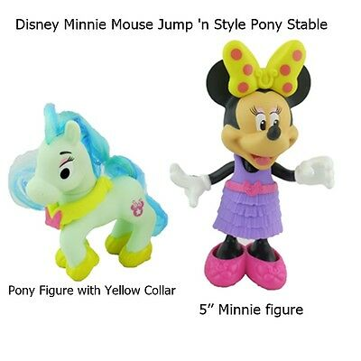 New Fisher-Price Disney Minnie Jump 'n Style Pony Stable Replacement Figures