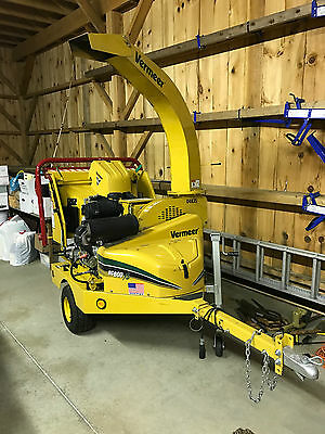 """Vermeer Bc600Xl 6"""" Wood Chipper, Brush Chipper - Showroom Condition - 81 Hours"""