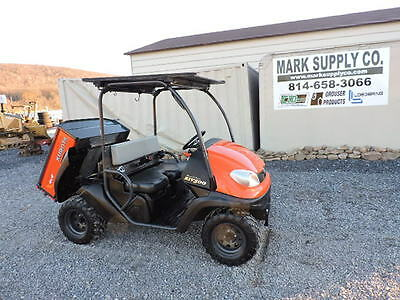 2011 Kubota RTV500 UTV Utility Vehicle 4x4 Gas Side By Side Dump Bed !!!