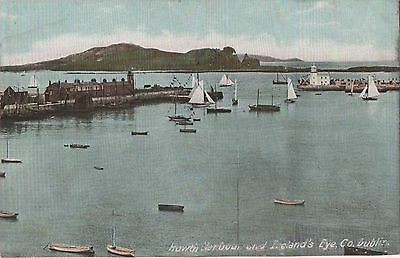 POSTCARD  IRELAND  HOWTH  Harbour