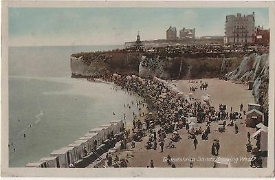POSTCARD  BROADSTAIRS  The Sands