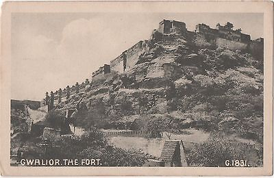 POSTCARD  INDIA  GWALIOR  The Fort