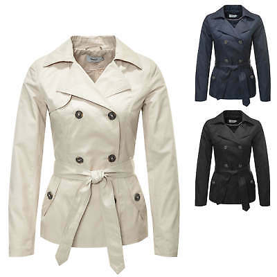 Only Cappotto da donna Trenchcoat Trench Giacca Giubbino Color Mix NUOVO