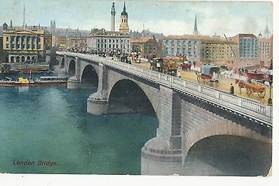 POSTCARD   LONDON  Bridge