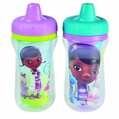 The First Years Disney Doc Mc Stuffins Insulated Sippy Cup, 9 Ounce Color and