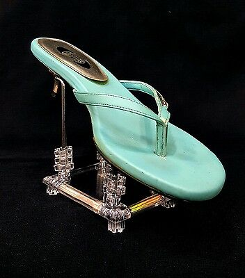 New Clear Acrylic Plastic + Metal Riser for Shoe and Sandal or Clutch Display