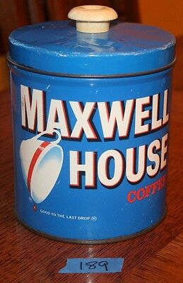 Maxwell House Collectors Coffee Tin Vintage