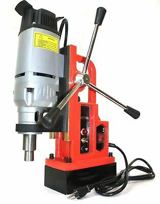 "1350W Magnetic Drill Press 1"" Boring & 3372 LBS Magnet Force"