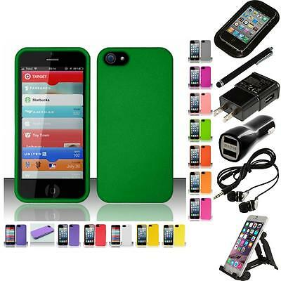 For Apple iPhone 5 Matte Snap-On Hard Phone Case Cover Accessories